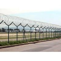Wholesale Anti Climb Airport Security Fencing , Welded Wire Mesh Fencing Panels from china suppliers