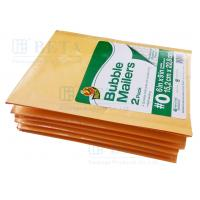 Wholesale Retail Shrink Pack Kraft Bubble Mailer 2pk #0 With Custom Label from china suppliers