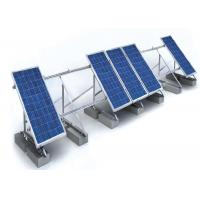 Wholesale 1.4KN/M2 Solar Panel Roof Mounting Systems Customized Color Aluminum Stainless Steel Structure from china suppliers