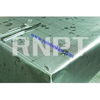 Wholesale Luxury Brushed Metallic PVC Table Cloth from china suppliers