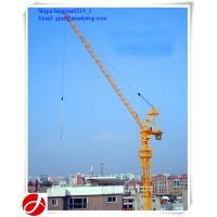 Wholesale new type ce certification QTD125 luffing jib 10t hydraulic tower cranes model from china suppliers