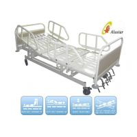 Wholesale 5 Function Metal Side Rail Medical Hospital Beds Manual Crank Bed (ALS-M501) from china suppliers