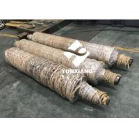 YUNXIANG Corrugator Machine Parts , Corrugated Metal Roller For Single Facer