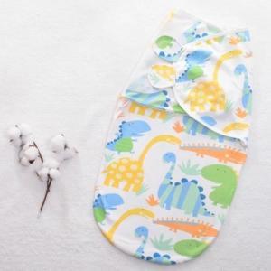 China Skin Friendly Printed Muslin Sleeping Bag Onesizes Plain Style Animals Print on sale