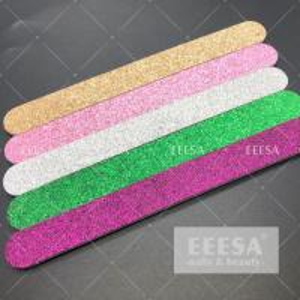 Wholesale Colorful Shining  Nail File Buffer  Straight Shape Fingernail Buffer 3 Way from china suppliers