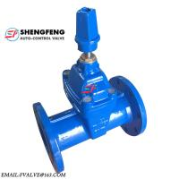 Wholesale DIN DN100 Non rising Stem EPDM disc ductile iron F5 Gate Valve from china suppliers