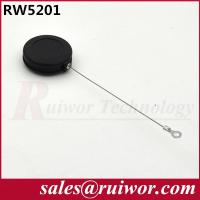 Wholesale 82 Cm Length Retractable Steel Cable Security Tether With Ring Terminal from china suppliers