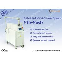 Q - Switch Nd Yag Laser Tattoo Removal Machine For Pigmentation Removal for sale