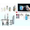 Semi Automatic Aerosol Filling Machine for Graffiti Spray Paint Pneumatic Drive for sale