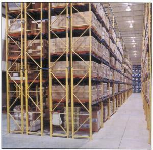 Wholesale High Density Storage Rack / Garage Storage Shelves 500KG-5000KG/Layer Power Coating from china suppliers