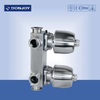 Buy cheap 3/4 Inch Multi function Sanitary Diaphragm Valve DN80 , 3 ports from wholesalers