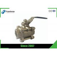 Wholesale SS316 BSP Threaded Flow Control Stainless Steel Ball Valve 3PC from china suppliers