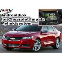 Wholesale Chevrolet Impala Android Navigation Box , Wifi Mirror Link real time Navigation from china suppliers
