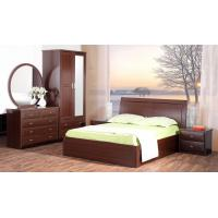 Wholesale Cheap Apartment Modern Bedroom Collection by Queen Bed and Nightstand with Drawer of chest from china suppliers