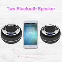 Wholesale Mobil phone wireless charging bluetooth speaker TWS portable BT speaker with MP3 music AUX and FM from china suppliers