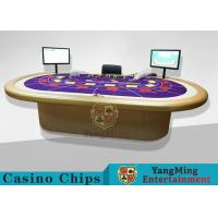 Wholesale Casino Clay Poker Chips / Ceramic Poker Chips Table With Poker Barcode Scanner from china suppliers