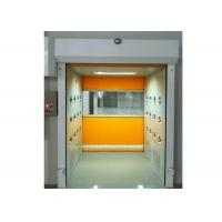 Wholesale PVC Rolling Shutter Door Cleanroom Air Shower Micro-electronics PLC Control System from china suppliers
