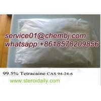 Wholesale Local Anaesthetic Drugs Tetracaine with High Purity CAS 94-24-6 from china suppliers