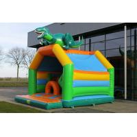 Wholesale Multiplay Dinosaur Inflatable Bouncy Castle Combo Jumper Rentals With Slide from china suppliers