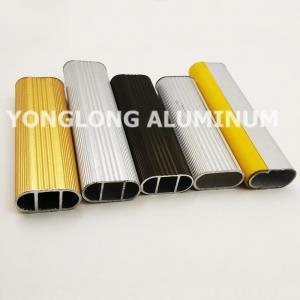 Wholesale Square Wardrobe Aluminium Frame Profile For Decorative Material / Aluminum Sliding Window Profile from china suppliers