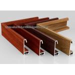 China Custom Wood Grain Copy Aluminium Picture Frame Mouldings Profiles for sale