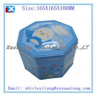 Wholesale printing plain gift tin box from china suppliers