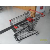 Wholesale 125L Supermarket Shopping Trolley With 4 Swivel Flat Casters 941 x 562 x 1001mm from china suppliers