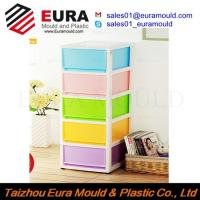 Wholesale EURA Taizhou High Quality Plastic Drawer Storage Box Injection Mould from china suppliers