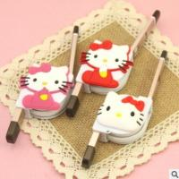 Wholesale Dual Use Retractable Apple Data Cable Multi Purpose With Hello Kitty Cute Cartoon from china suppliers