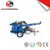 Wholesale 200M Protable Small Trailer  Hydraulic Water Well Drilling Rig Borehole Drilling Equipment from china suppliers
