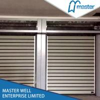 Buy cheap Automatic Aluminum Alloy Metal Insulated High Speed Fast Rapid Roll Shutter Door for Industrial Freezer Room from wholesalers
