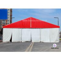 China Different Sized Custom Event Tents With White PVC Fabric For Exhibition , Warehouse for sale