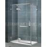 10MM Frameless Pivot Shower Door / Frosted Shower Enclosure CE Certification for sale
