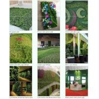 Wholesale Artificial green wall plants art plants wall plastic from china suppliers