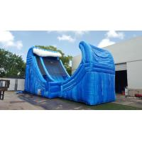 Wholesale Huge 27 Ft Tall Wave Rider Inflatable Water Slides With Air Pump And Repair Material from china suppliers