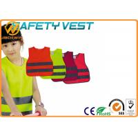 Wholesale Reflective Kids High Visibility Vest with Fluorescent Yellow Polyester Material from china suppliers