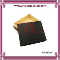 Wholesale black paper gift box/kraft paper box/paper jewelry box ME-TB024 from china suppliers