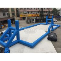 Wholesale Customzied Inflatable Sports Games , Ultimate Sports Arena Inflatable Football Field from china suppliers