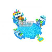 Wholesale Giant Amazing Inflatable Water Park Equipment , Backyard Blow Up Water Park For Kids from china suppliers