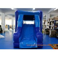 Wholesale Safety Blue PVC Commercial Inflatable Water Slides For Children from china suppliers