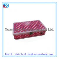 Wholesale Rectangular tin biscuit box from china suppliers