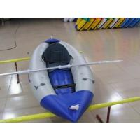 Wholesale Durable Inflatable Sea Kayak 25cm Diameter Single Person Kayak For Sport Event from china suppliers