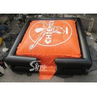 Buy cheap 10x10m Outdoor Big BMX Inflatable jump air bag for outdoor stunt trainning from wholesalers