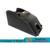 Wholesale Intelligent Automatic Black Jack Shoes For Baccarat Gambling Can Send Cards from china suppliers