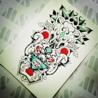 Wholesale Coolest temporary tattoo sticker, tattoo sticker temporary tattoo from china suppliers