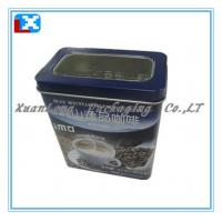 Wholesale rectangle tea/coffee gift tin box from china suppliers