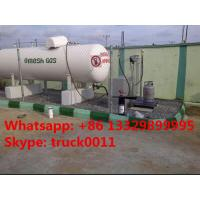 New coming 100,000L skid mounted lpg cooking gas refilling station for sale, 100M3 mobile skid lpg gas filling plant