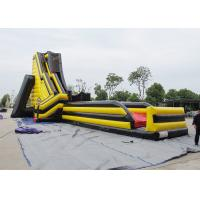Wholesale 70' X 32' X 33' Yellow And Red Giant Inflatable Water Slide Deagon Head Shape from china suppliers