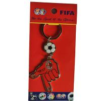 Wholesale Promotional gift PVC football club keyring from china suppliers