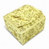 Wholesale Gift Packing Box with Glitter Gold Powder on Surface, Butterfly Design in Opening from china suppliers